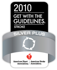 get with the guidelines 2010 sliver plus stroke designation seal
