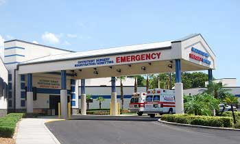 photo of emergency room exterior